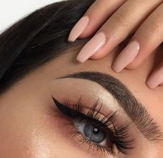 ♡ Pinterest :: Chocolatebeso ♡ Cute Makeup, Glam Makeup, Gorgeous Makeup, Pretty Makeup, Skin Makeup, Makeup Inspo, Makeup Style, Cheap Makeup, Beauty Make-up