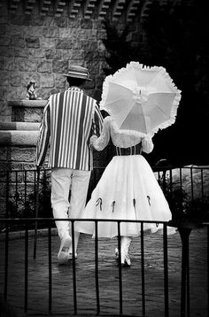 mary poppins and bert...watched on Italian tv at the neighbor's house oh so long ago