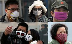 Air pollutions masks aren't just for the Chinese. Start a new trend and protect yourself against pollution.