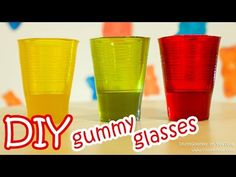 An Easy Recipe For Making Edible Gummy Glasses With Jell-O
