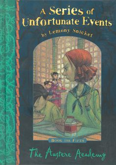The Austere Academy is the fifth book of the unlucky adventures of the three siblings, like always Count Olaf is trying to take all their money, and the rest of the things around them doesn't help.At least in this story they find friends, I love the way that Lemony Snicket writes!