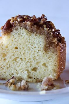Fall Desserts: Pecan Upside Down Bundt Cake Recipe Thanksgiving Desserts Easy, Thanksgiving Side Dishes, Fall Desserts, Just Desserts, Thanksgiving Feast, Pecan Recipes, Cake Mix Recipes, Dessert Recipes, Dinner Recipes