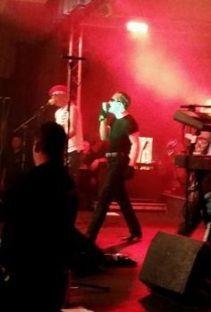 NEAT: The Damned on stage at Weymouth Pavilion
