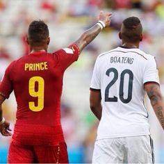 Kevin Prince Boateng and Jerome Boateng