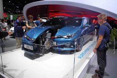 Salón del automóvil Frankfurt - Toyota Auris Hybrid