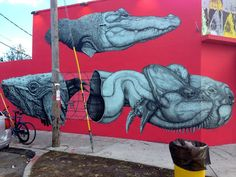 La Pandilla New Mural In Miami, USA StreetArtNews