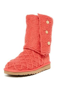 Lattice Cardy Knit Boot by UGG Australia on @HauteLook