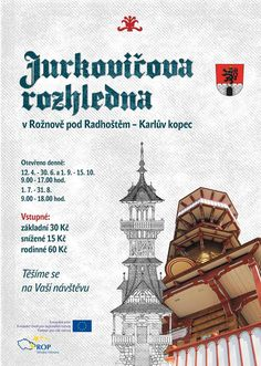 Jurkovičova rozhledna - Rožnov pod Radhoštěm (Karlův kopec) :: Tipy na výlety