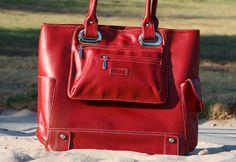 Red Hermosa Bag by Namaste Inc. - #Vegan Cuts
