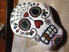 Great shape for a skull. Dia de Los Muertos.