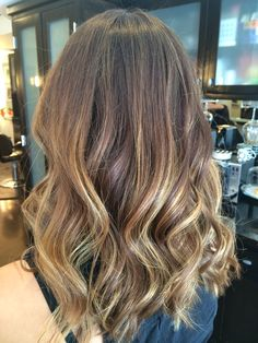 Balayage by Bella Salon of Naples in Long Beach, Ca. Baliage, hairstyle, hair, gorgeous hair.