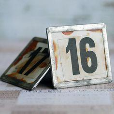 magic number 16 and 17... vintage number      Mar by CoolVintage