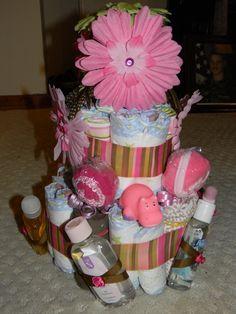 Diaper Cakes, https://www.facebook.com/pages/Dees-Crafts/210204929018895?ref=hl