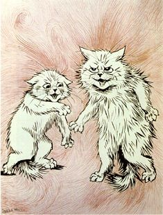 Wain Cats -- The Fire of the Mind Agitates the Atmosphere - ルイス・ウェイン - Wikipedia
