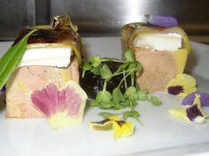 FOIE-GRAS,Manzana caramelizada y Queso de cabra  http://www.tvcocina.com/photo/foie-gras-manzana-caramelizada-y-queso-de-cabra