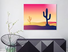 Sublimation art print on a thick aluminum sheet. Manually numbered, signed, and shipped with a certificate of authenticity. Mexico Cactus, Aluminium Sheet, Metal Art, Authenticity, Certificate, Exotic, Art Gallery, Bee, Glow