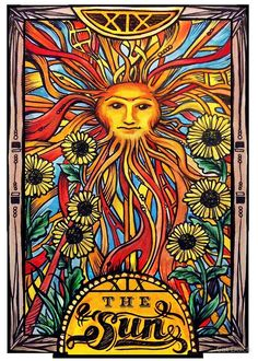 Card of the Day - The Sun - Saturday, December 23, 2017