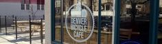 Branding for the recently opened Denver Bicycle Cafe.They specialize in bicycle maintenance, fresh-brewed coffee, and a wide selection of Colorado & Denver beers. Bicycle Cafe, Bike, Denver Restaurants, Visit Denver, Brewery, Colorado, Creative Ideas, Public, Scene