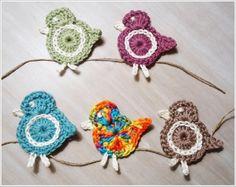 Little Bird crochet pattern Crochet Birds, Easter Crochet, Crochet Art, Love Crochet, Crochet Motif, Crochet Crafts, Crochet Flowers, Crochet Toys, Crochet Projects