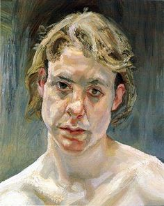 Lucian Freud Head of a Naked Girl Oil on canvas cm Collection of UBS Paine Webber Inc. Lucian Freud Paintings, Lucian Freud Portraits, Sigmund Freud, Figure Painting, Painting & Drawing, Rembrandt, Antoine Bourdelle, Bella Freud, Jung So Min