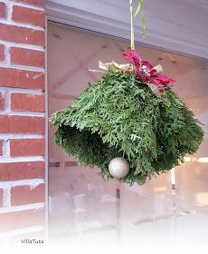 VillaTuta: Joulukellot tuijan oksista! Christmas Holidays, Christmas Wreaths, Christmas Decorations, Xmas, Holiday Decor, Twig Crafts, Diy Home Crafts, Garden Projects, Projects To Try