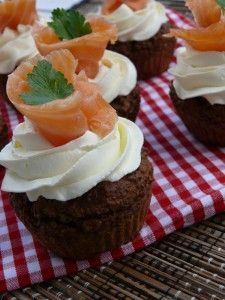 Wunderschöne Pumpernickel Cupcakes #foodporn