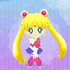 """sailorsoapbox: """"Sailor Moon Drops - Sailor Moon (Cosmic Heart) Animated GIF PLEASE DO NOT REPOST THIS GIF! THANK YOU! """""""