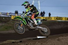 Awesome shot from MX Nationals. Team Green Youth