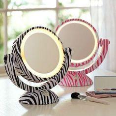 Cute Makeup Mirrors (ZEBRA <3)