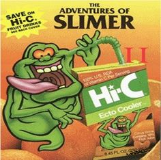 ooooohhh ecto cooler, I must make some now