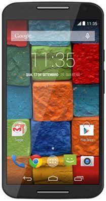 """Saraiva Smartphone Motorola Moto X 2ª Geração Preto Tela 5.2"""" Android 4.4 Câmera 13Mp 32Gb ==> R$ 899,10"""
