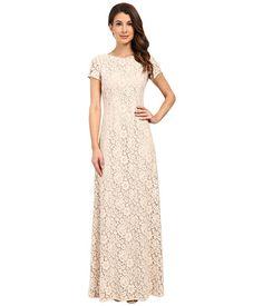 Donna Morgan Alice Cap Sleeve Dress Fawn - Zappos.com Free Shipping BOTH Ways