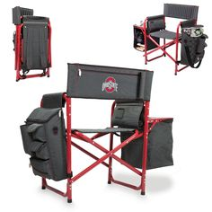 NCAA Ohio State Buckeyes Portable Fusion Chair