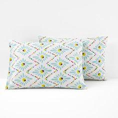 Majorque Printed Cotton Pillowcases