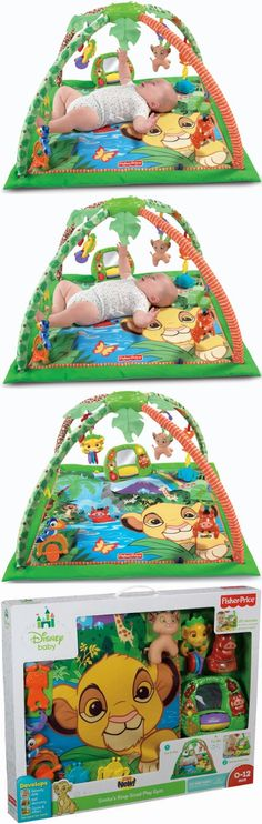 Fisher-Price Disney Baby Simba's King-Sized Play Gym - Fisher-Price Disney Baby Simba's King-Sized Play Gym - Baby Gyms & Playmats - Baby - $69.99
