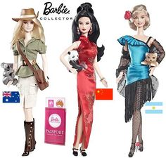 Coleção de Barbie - Doll of the World