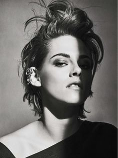 Kristen Stewart's Stunning Covershoot For Vanity Fair France via @WhoWhatWear