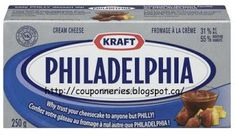 Coupons et Circulaires: PHILADELPHIA 250g