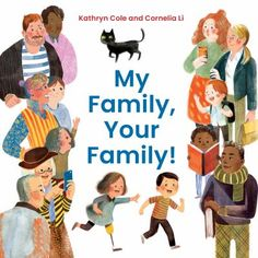 This book includes a diverse array of characters and celebrates gay parents, single parents, blended families, and other family groups rarely seen in board books. Board Books For Babies, Baby Books, Toddler Books, The Napping House, Best Baby Book, Little Blue Trucks, How To Read Faster, Kids Series, Best Kids Toys