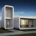 Binalar Artık 3B Printerla Basılacak >> Dünyanın tümüyle 3B printerda basılan ilk ofisi Dubai'de açılıyor  3B printerlar klasik inşaatın yerini alıyor ve dünyanın tümüyle 3B printerda basılan ilk ofis binası da turizm merkezi Dubai'de inşa edilecek. 2008 krizinde Almanya'ya borçlanan Dubai devlet başkan yardımcısı ve başbakanı Şeyh Maktum tümüyle 3B printerda basılan ilk ofisi üretmek için WinSun Global ile anlaştı. Amacı ise Dubai'yi tekrar canlı bir emlak merkezi yapmak.