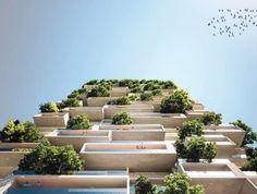 "World's second ""vertical forest"" will be in Switzerland/ Al doilea turn-gradina va fi in Elvetia"