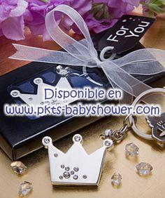 Recuerdos para Baby Shower - Llavero Corina Metal - Disponible en www.pkts-babyshower.com