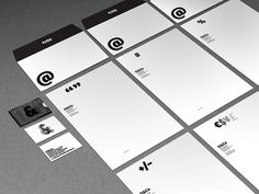 Personal Stationery Design by O