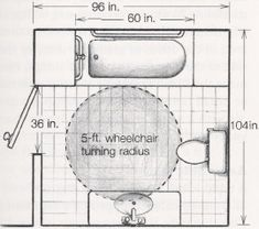 1000 images about design universal design on pinterest Universal design bathroom floor plans