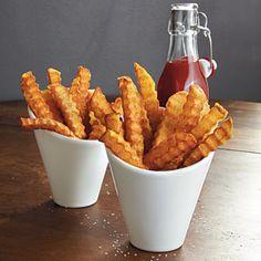 Crinkle-Cut Fries   MyRecipes.com