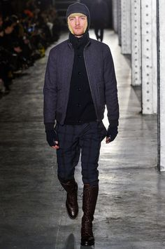 N.Hoolywood Fall 2013 Menswear Collection Slideshow on Style.com