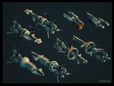 MORE SPACESHIPS DESIGNS on Behance