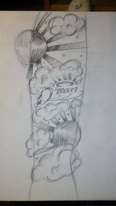 Half Sleeve Tattoo Drawings for women | Half sleeve tattoo design by ~Bothomas10 on deviantART