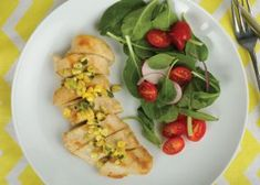 Lounging on the patio, enjoying a warm breeze and a few extra hours of daylight is surely one of summer s pleasures. And what better way to top off a carefree evening than a delicious meal from the grill? These gluten-free recipes pair simply grilled chicken, pork, beef and salmon with quick and tasty sauces made from summer fruits and vegetables.