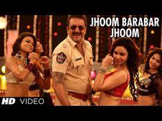 POLICEGIRI JHOOM BARABAR JHOOM VIDEO SONG   SANJAY DUTT, PRACHI DESAI